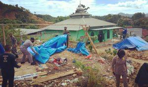 Bidang Keamanan dan Ketertiban Posko Transisi Darurat Fasilitasi Pemulangan Pengungsi