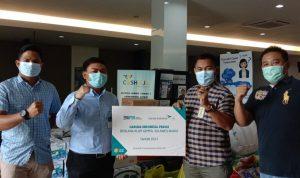 Pasca Gempa, Garuda Indonesia Peduli Serahkan Bantuan Kemanusiaan