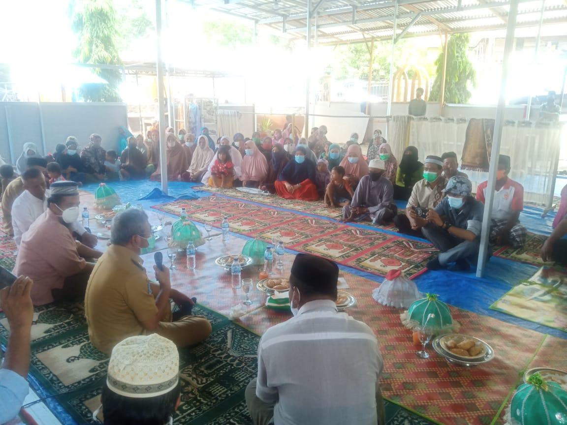 Gubernur Sulbar Tinjau Masjid Terdampak Gempa