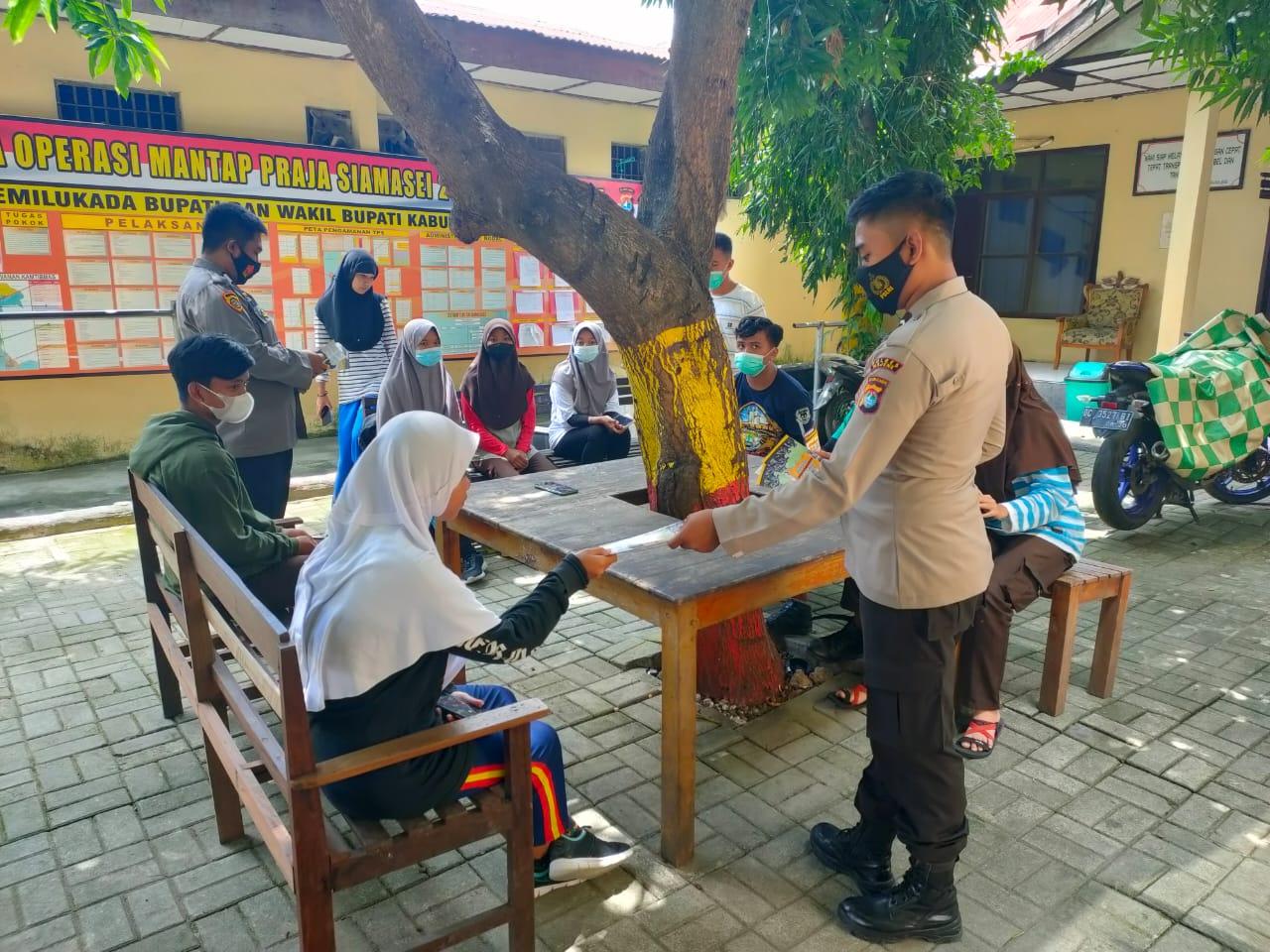 Pendaftaran Polri Dibuka, SDM Polres Majene Mulai Jaring Minat Generasi Muda