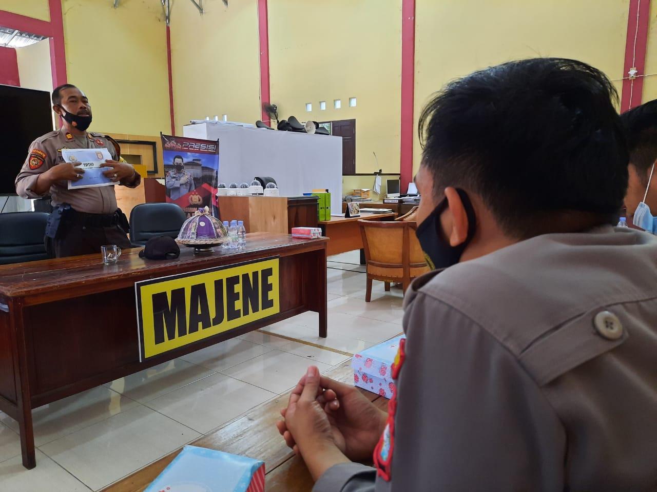 Polres Majene Gelar Pelatihan TPTKP
