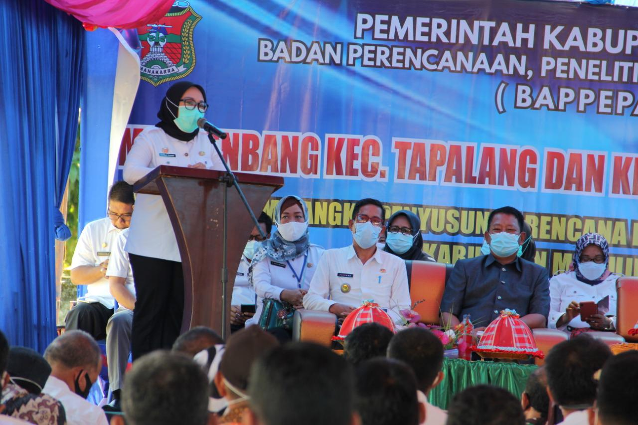 """Di Musrenbang, Bupati Ingatkan Tak ada program """" Lewat Jendela """""""