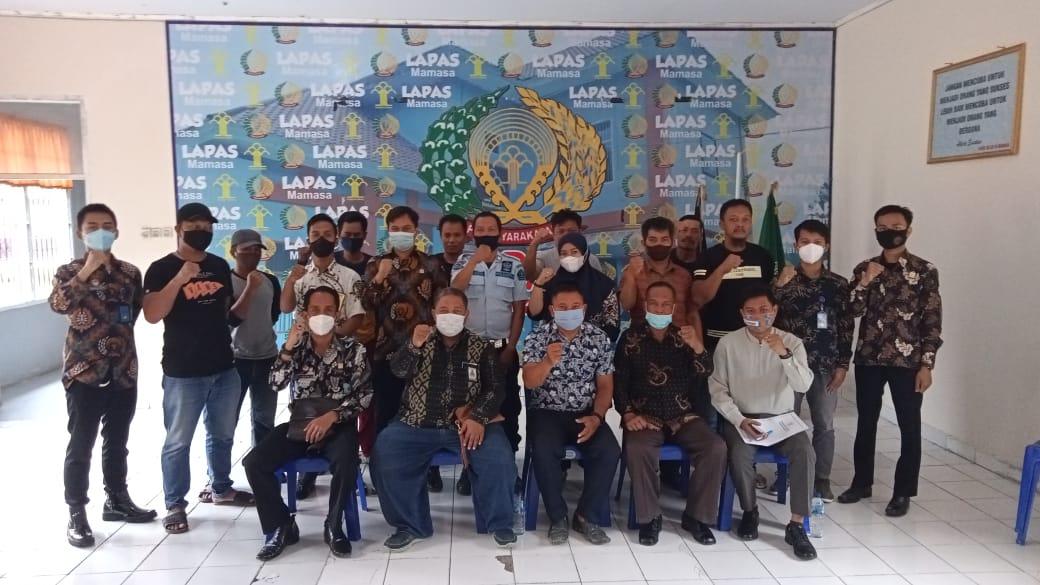 Sidak di Lapas Mamasa, Ombudsman Sulbar: Kedisplinan, Modal untuk Perbaikan Kualitas Layanan Publik