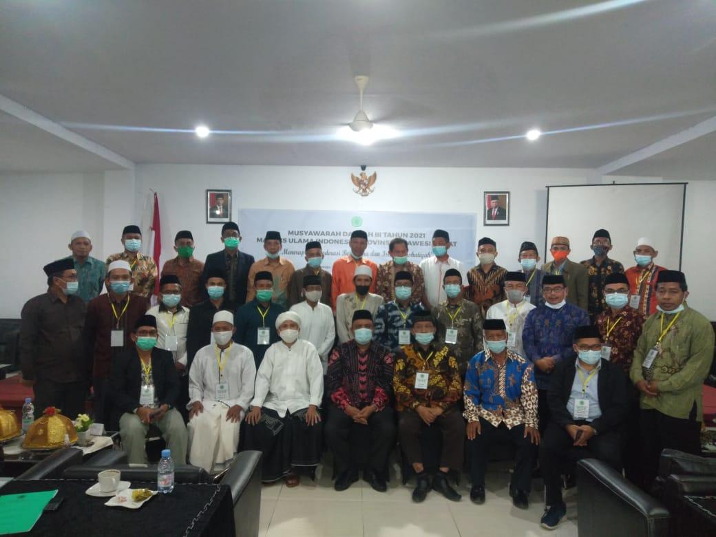 KH Nafis Terpilih Menjadi Ketua MUI Sulbar
