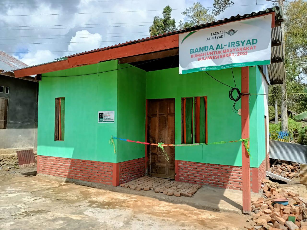 Laznas Al-Irsyad Serahkan 33 Unit Rumah
