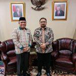 Kakemenag Sulbar Bertemu Menteri Agama di Jakarta