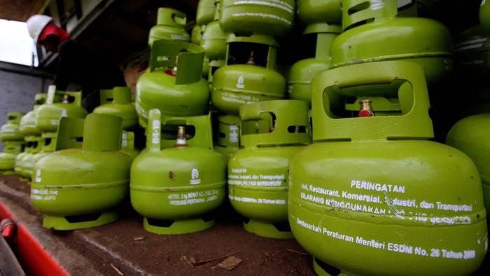 Disdag Mamuju Lakukan Layanan Penukaran Tabung Gas Subsidi