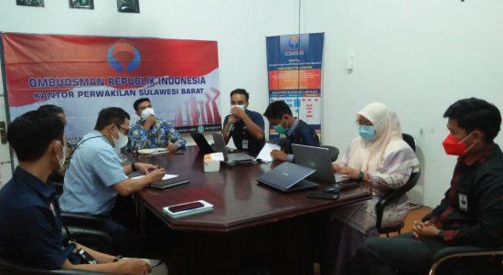 Bahas Iuran 1% Keluarga Tambahan Inti BPJS Kesehatan untuk PNS, Ombudsman Sulbar Gelar Rapat Koordinasi