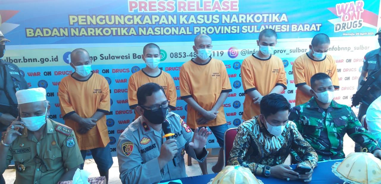 BNNP Sulbar Harap Pusat Rehabilitasi Narkoba Dibangun di Sulbar