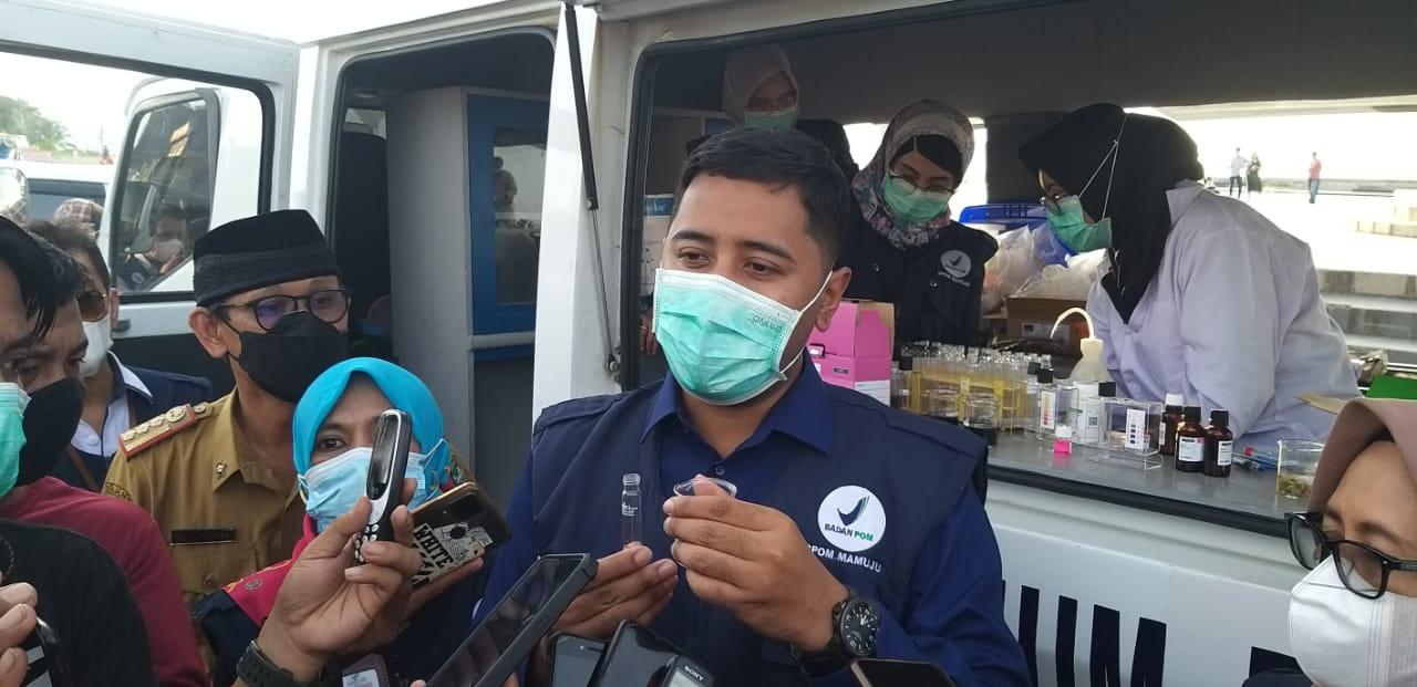 "Balai POM Di Mamuju Temukan ""Sagu Mutiara"" Pakai Pewarna Kain"