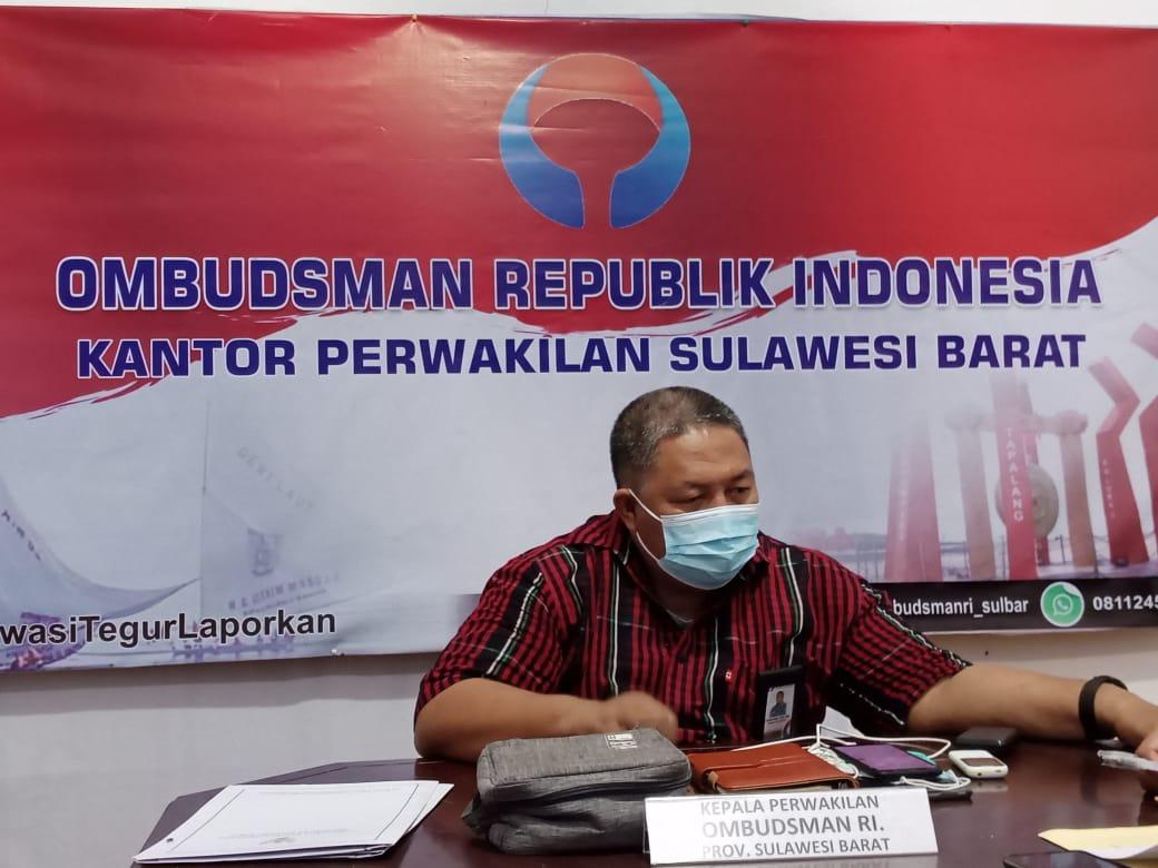 Ombudsman Sulbar Akan Berkantor Sehari di Disdukcapil Mamasa