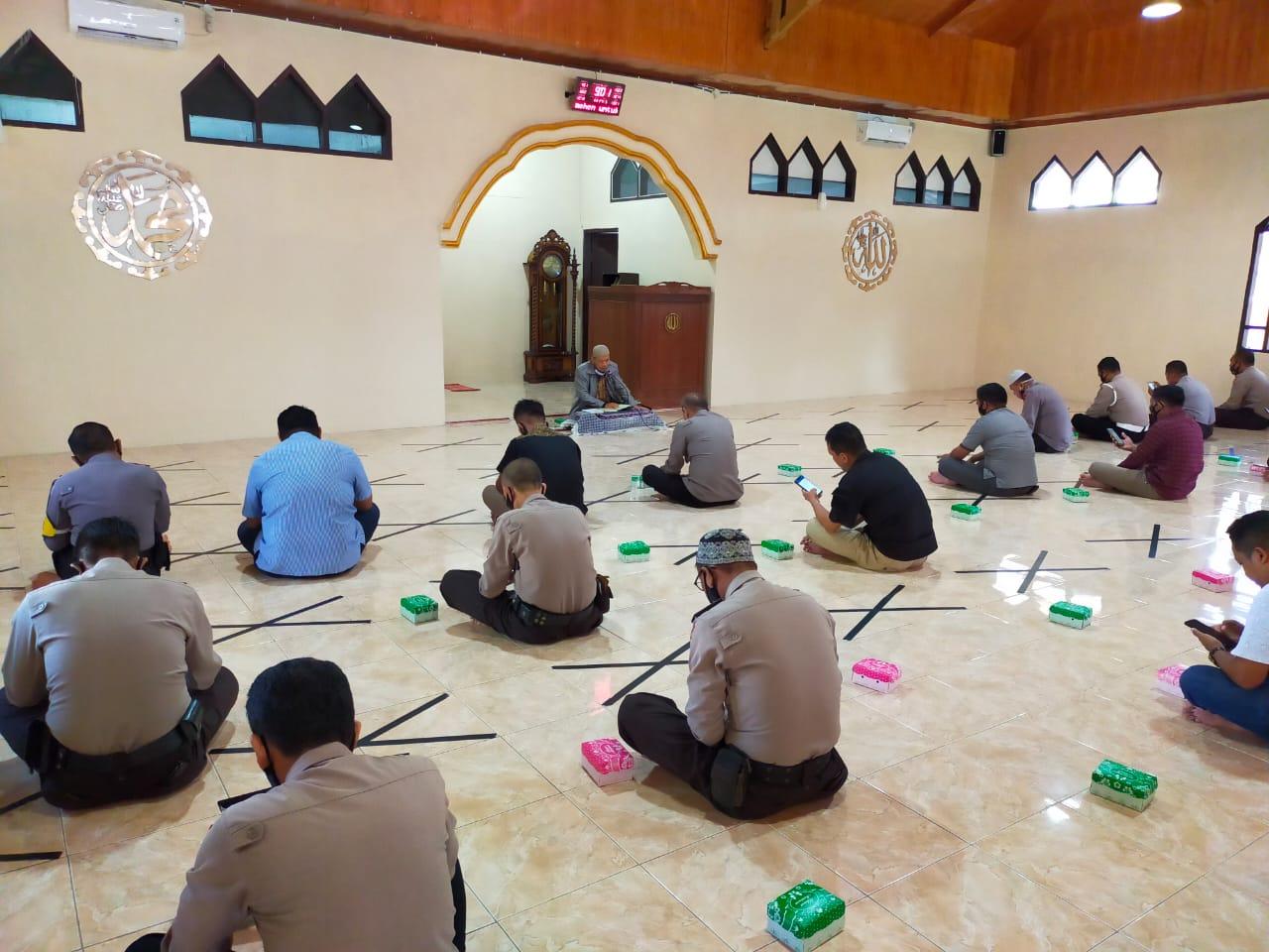 Binrohtal Polres Majene, Persiapan Menyambut Bulan Ramadhan