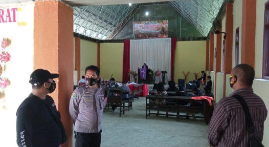 Perayaan Jumat Agung, Polres Pasangkayu Turunkan 150 Personel Amankan Gereja.