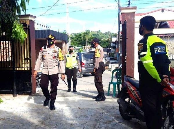 Puncak Paskah, Polres Majene Tingkatkan Pengamanan dan Patroli di Gereja