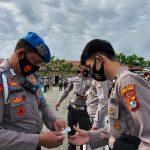 Bid Propam Polda Sulbar Periksa Sikap Tampang dan Kelengkapan Anggota Polres Mamuju Tengah