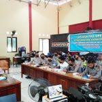 Jelang Pelaksanaan Operasi Keselamatan Siamasei Polres Majene Gelar Pelatihan