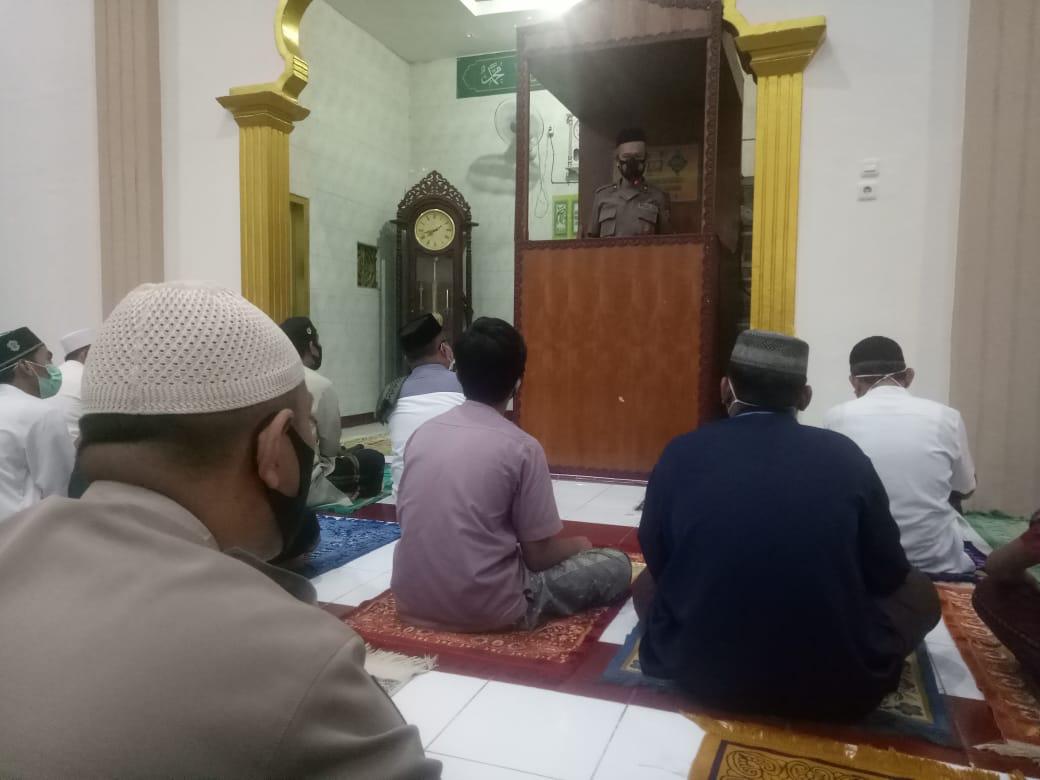 Safari Ramadhan, Kabag Ren Polres Majene di Masjid Baotul Maslahah Garogo
