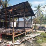 Rumah Warga Dilalap Si Jago Merah, Polsek Malunda Langsung Datangi TKP