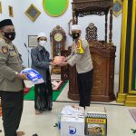 Safari Ramadhan Polres Majene Kali ini Sasar Mesjid Raudhaturrahim Pakkola