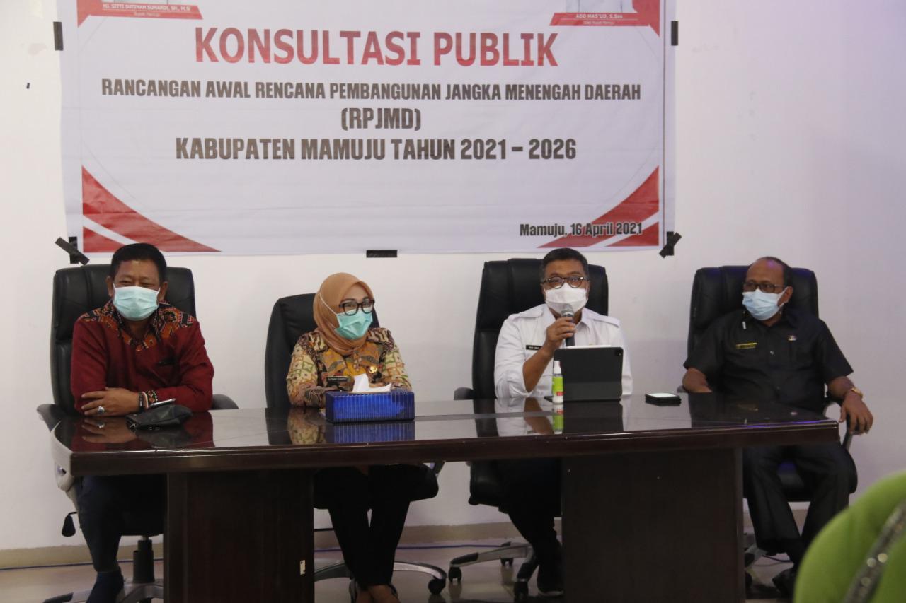 Konsultasi Publik RPJMD Mamuju, Ramai Apresiasi