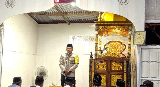 Kapolres Majene Safari Ramadhan Sampai ke Malunda