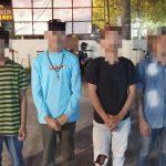 Qwiq Respon, Polresta Mamuju Amankan Pemuda Yang Terlibat Tawuran