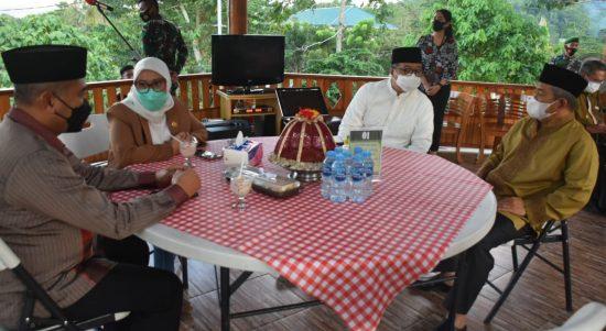Gubernur Sulbar Bersama Pangdam XIV Hasanuddin Jalin Silaturrahmi