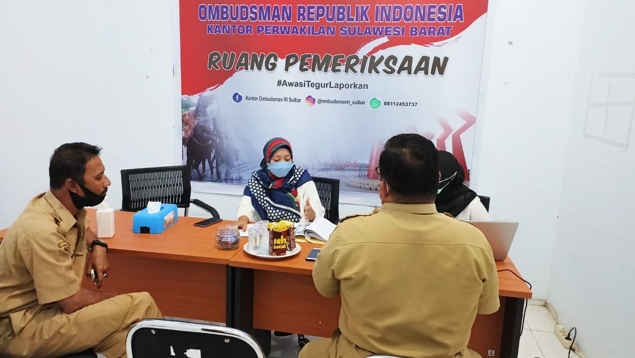 Terjadi Kesepakatan antara Pelapor dan Pihak Samsat Mamuju, Ombudsman Sulbar Tutup Laporan