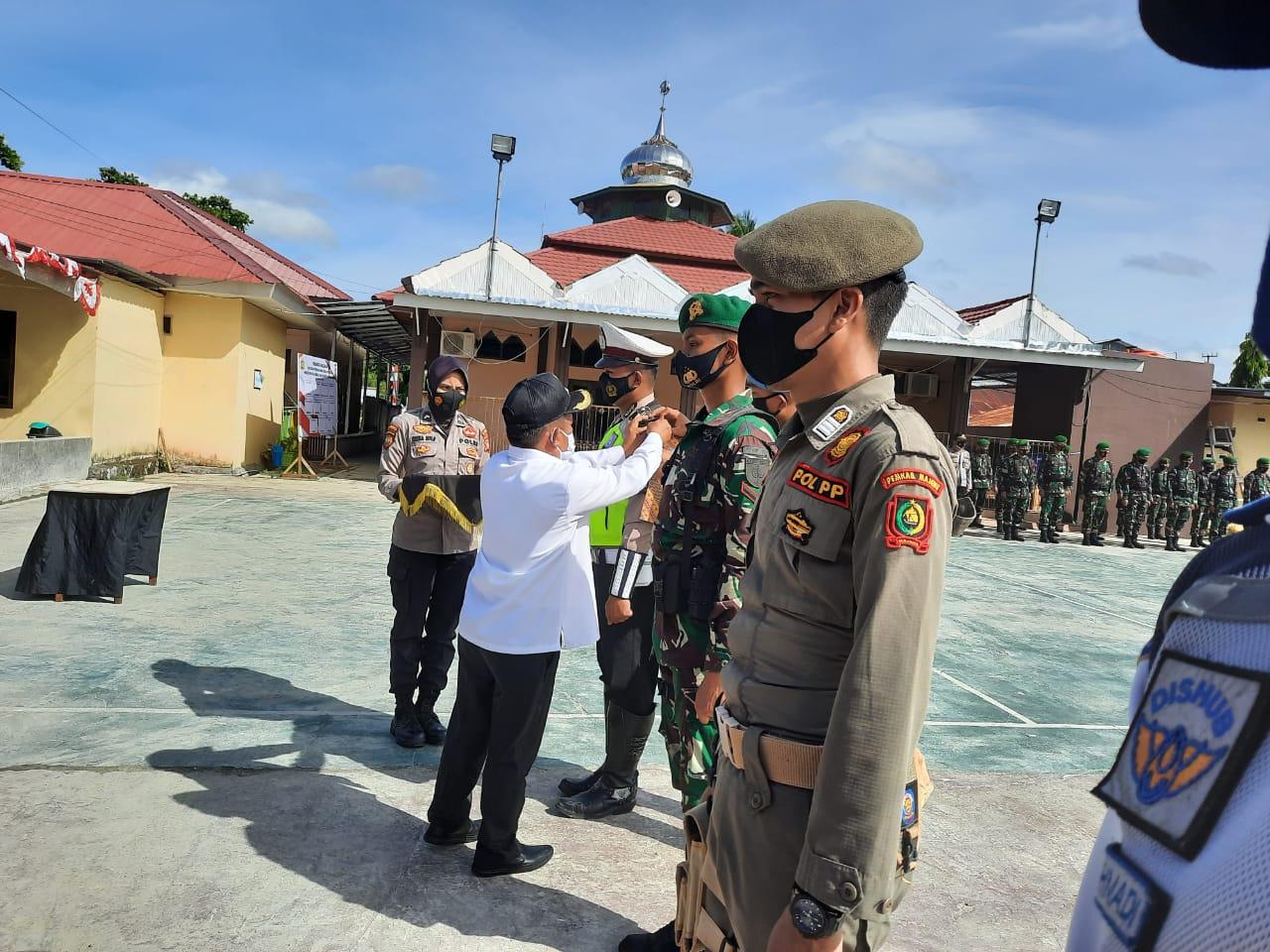Operasi Ketupat Siamasei Polres Majene, Bupati Pimpin Apel Gelar Pasukan
