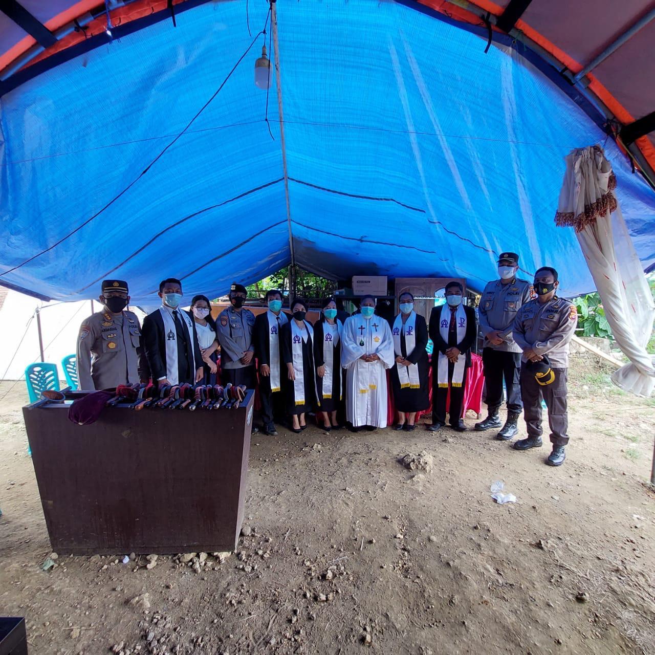Bertepatan dengan Idul Fitri dan peringatan kenaikan Isa Almasih, Personil Polda Sulbar Disiagakan