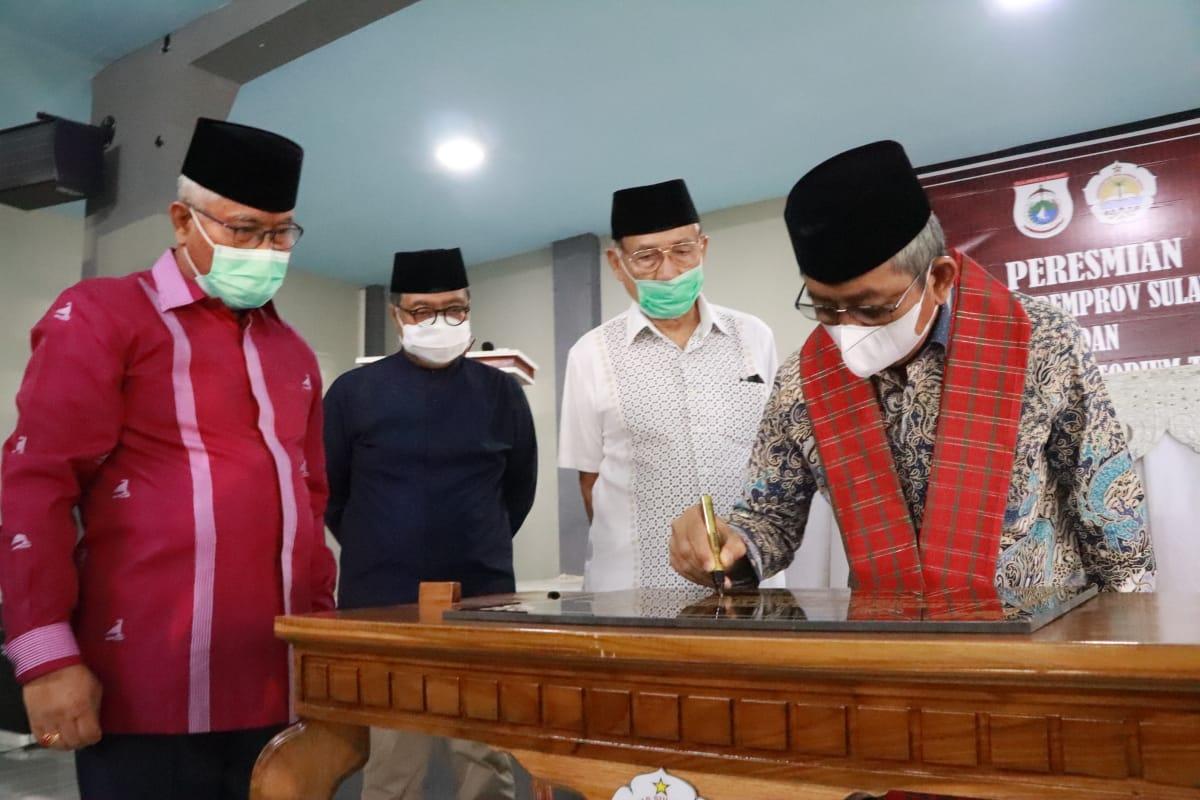 Ali Baal Resmikan Gedung Hibah Pemprov Sulbar dan Laboratorium Terpadu Unsulbar