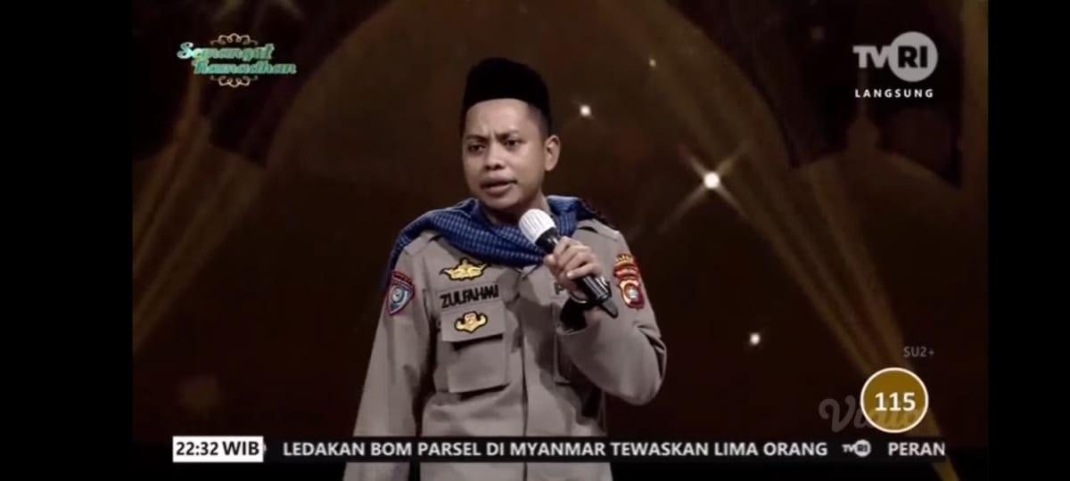 Utusan Polres Pasangkayu Sabet Juara 2 Lomba Dai Polisi Nasional.