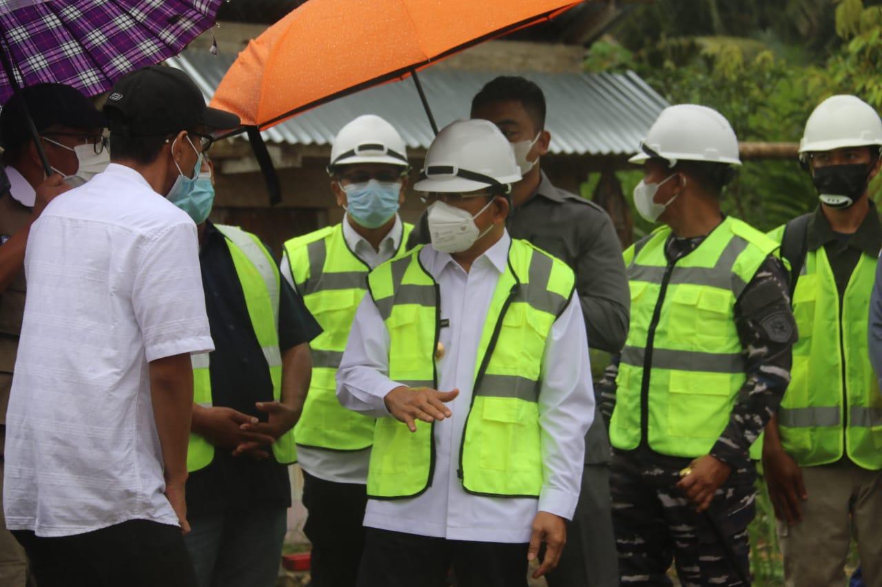 Pembangunan Bendungan Irigasi Desa Kasoloang Ditarget Selesai Tahun Ini