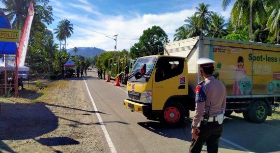 Pos Pengamanan Sarjo Telah Memutar Balik 51 Kendaraan