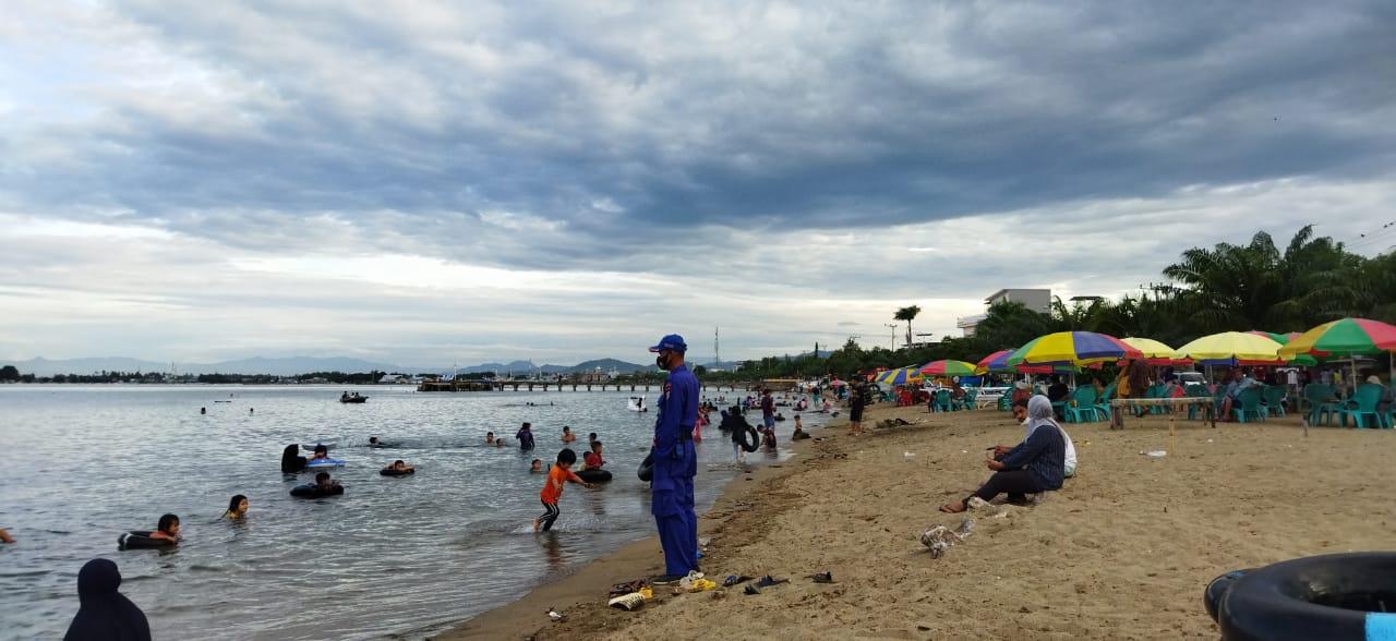 Sat Polairud Polres Polman , Pengamanan dan Pemantauan Wisata Pantai