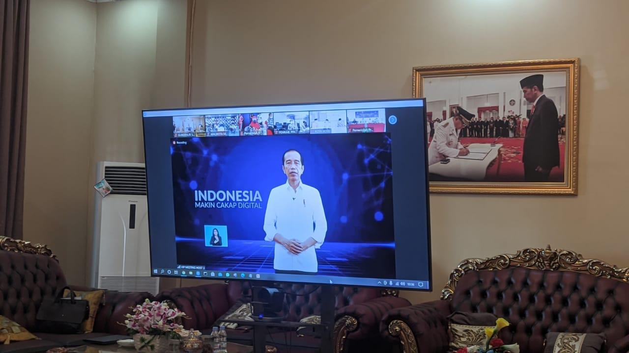 Presiden RI Luncurkan Program Literasi Digital
