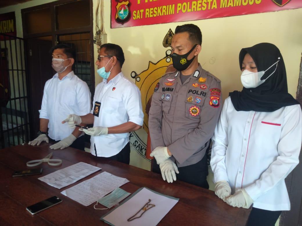 Polresta Mamuju Ciduk Pelaku Pencurian dan Kekerasan di Makassar