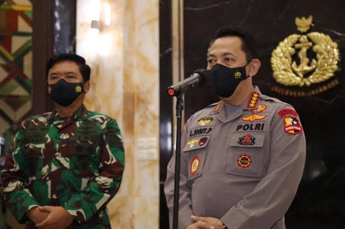 Panglima dan Kapolri Beri Arahan Khusus Ke Anggota TNI-Polri yang Bertugas di Papua