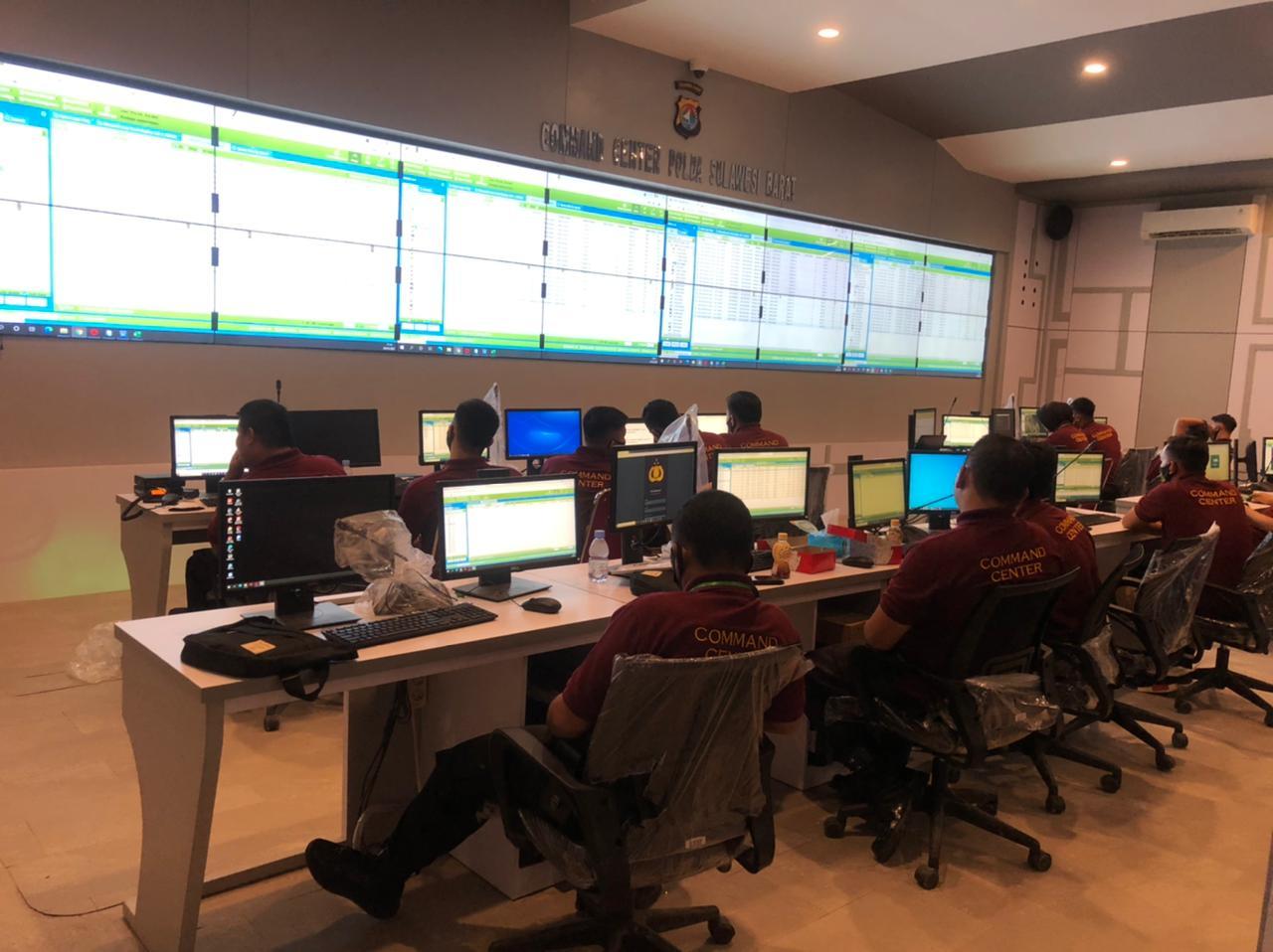 Polda Sulbar Pasang 140 Kamera CCTV di 6 Kabupaten