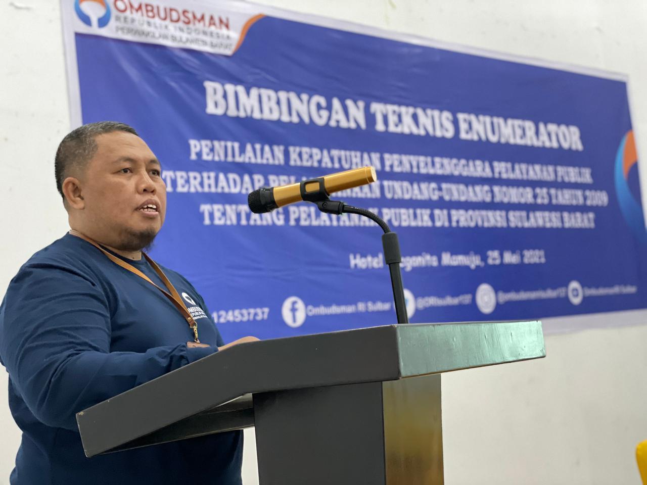 Ombudsman Sulbar Akan Melakukan Penilaian terhadap Penyelenggara Pelayanan Publik