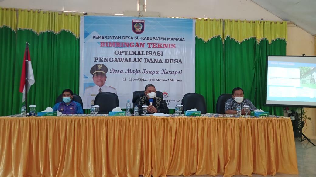 Kades Mengganti Perangkat Desa,Ombudsman Sulbar: Ada Aturannya