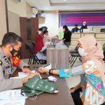 Bhayangkari Cabang Kota Mamuju Ikuti Program Vaksinasi