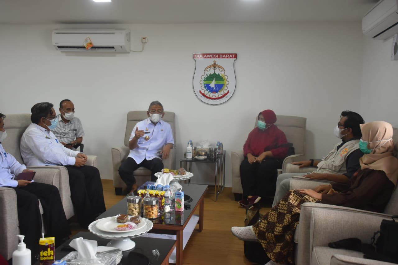 Gubernur Sulbar Terima Kunjungan Tim YCP