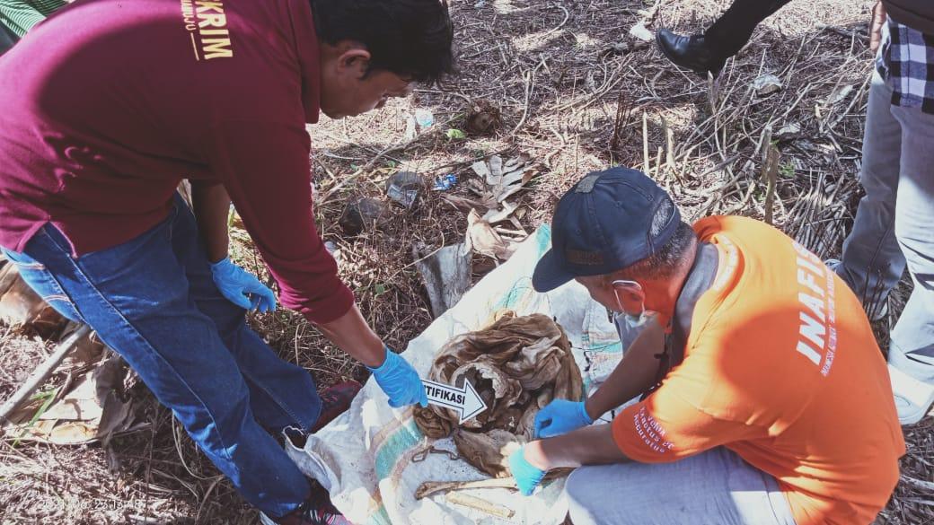 Polisi Identifikasi Penemuan Tengkorak di Timbu