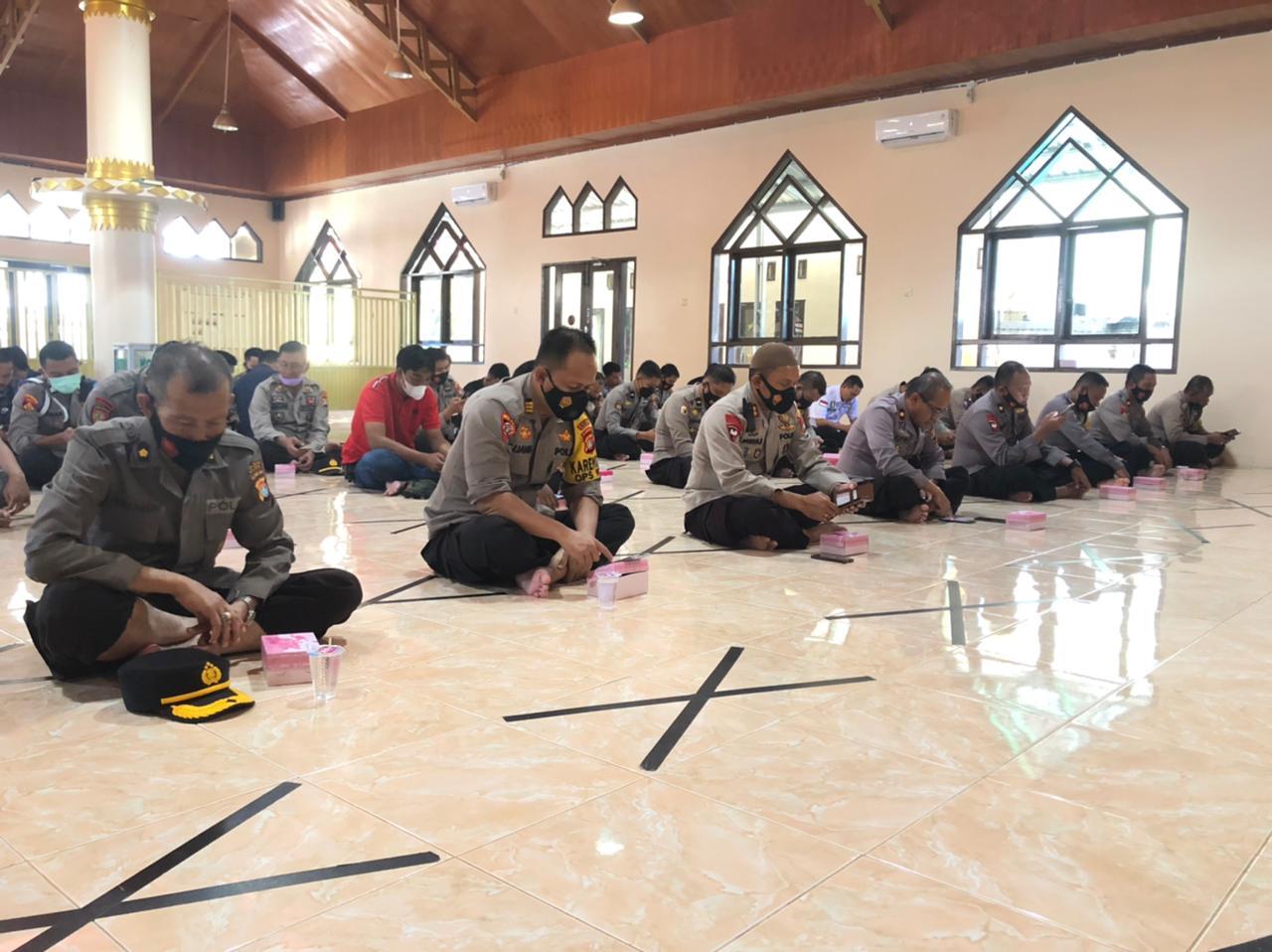 Binrohtal Polres Majene : Semangat Ramadhan Harus kita Pertahankan Hingga Akhir Hayat