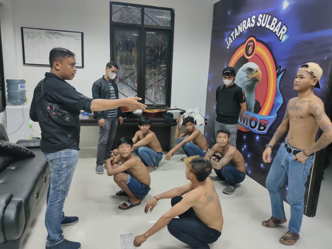 14 orang Preman ditangkap, Polda Sulbar : Akan Sikat hingga ke Akar-Akarnya