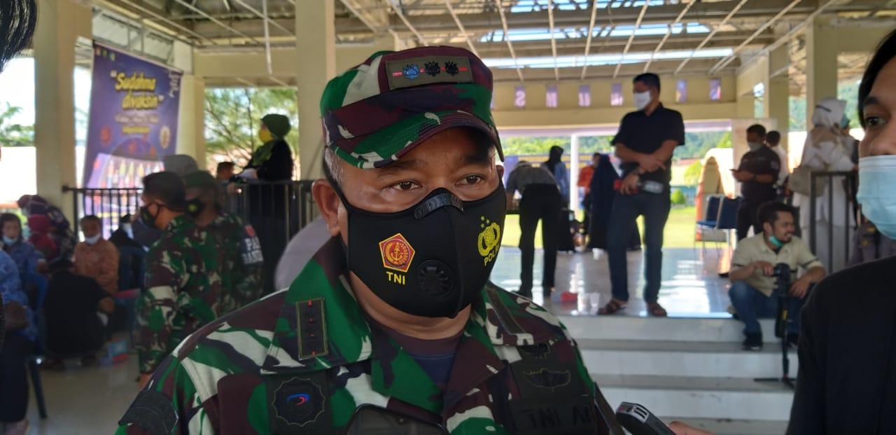 TNI Polri di Mamuju Berkomitmen Dukung Vaksinasi
