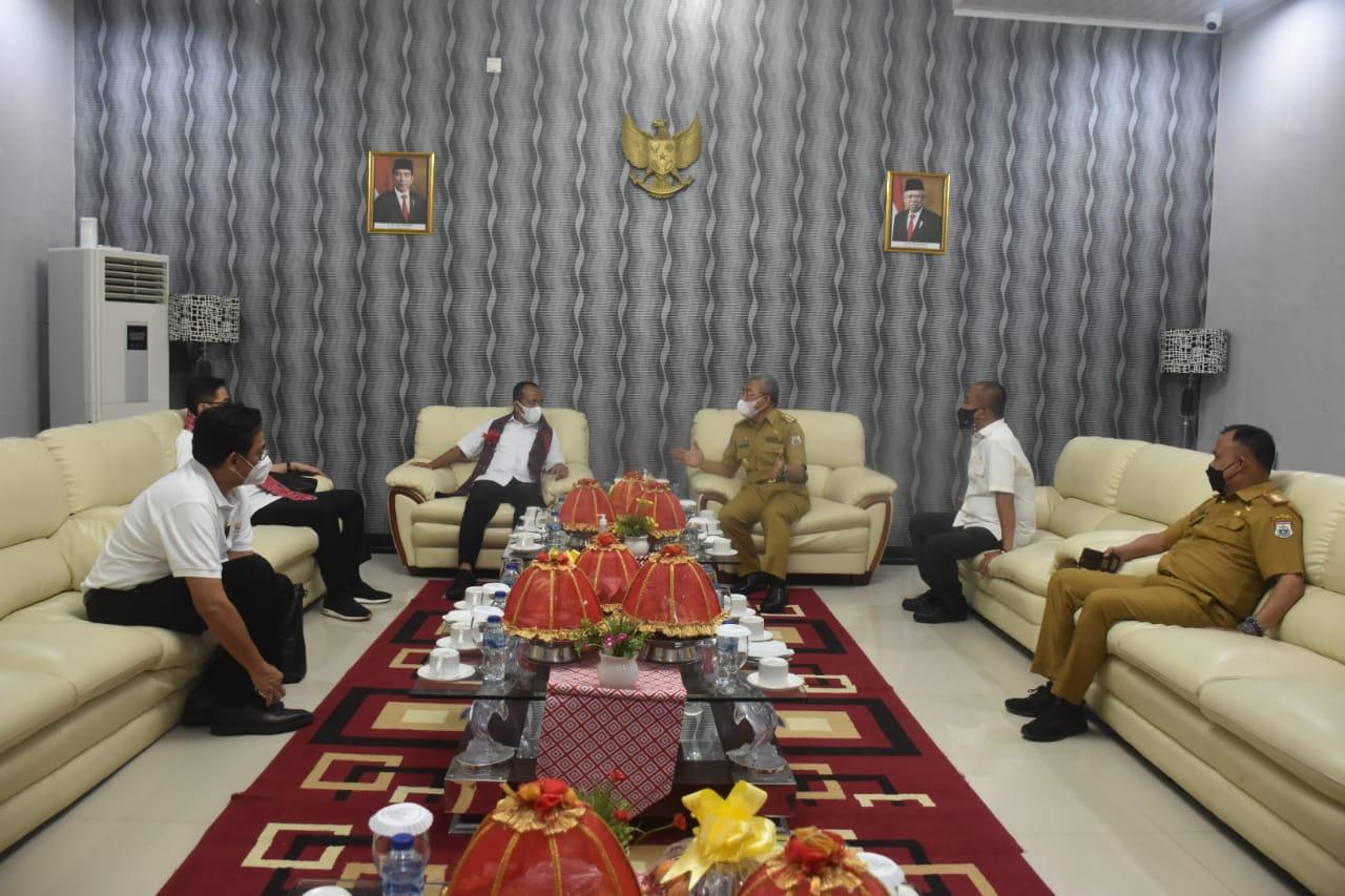 Kunjungi Sulbar, Menteri Bahlil Lahadalia Bahas Sejumlah Strategi Dongkrak Ekonomi Sulbar