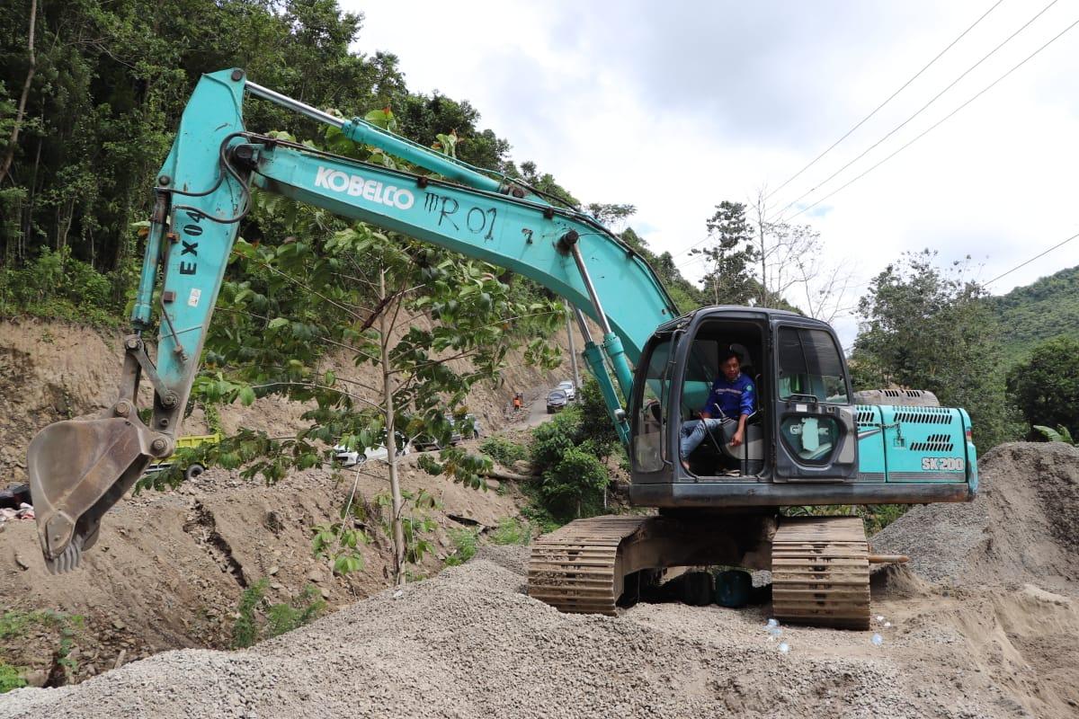 Akses Jalan Lampa -Matangga Polman Ditarget Rampung Akhir 2021