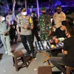 Kapolres Polman Pimpin Patroli Skala Besar Bersama TNI